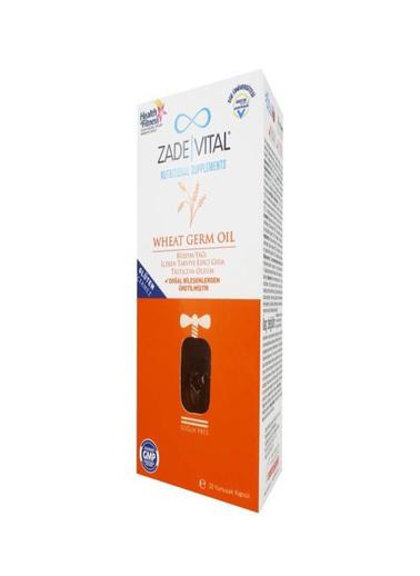Zade Vital Zade Vital Wheat Germ Oil 30 Kapsül Renksiz